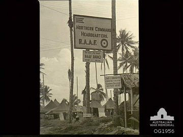 Image of RAAF Voice of the Islands HQ 1944