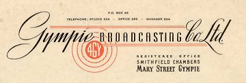 Original 4GY logo and letterhead from 1945