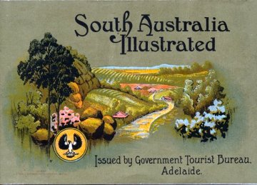 A promotional image of Adelaide in the early 1920s