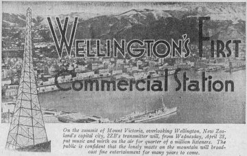 2ZB Wellington 75 Years : Early Personalities
