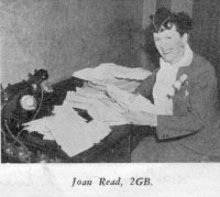 Joan Read, 2GB