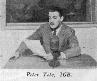 Peter Tate, 2GB