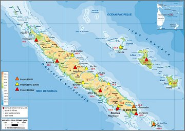 RRB coverage map of New Caledonia