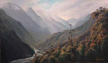 Hollyford Valley print