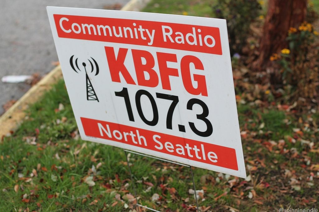 KBFG sign in front of the Shack