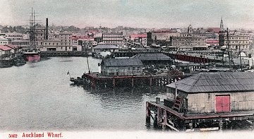 Auckland Harbour 1900s