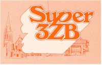 image of NZ Radio, Promotional logo for 'Super' 3ZB